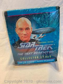 Star Trek The Next Generation Collector Cards 36/10 Card Packs