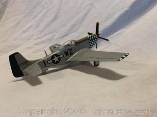 "P52 Mostang ""Big Beautiful Doll"" Model Plane"