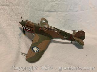 Hallmark Curtiss P-40 WarHawk Model Airplane