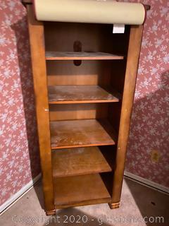 Vintage 5 Shelf Bookshelf
