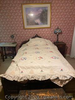 Vintage Sligh Furniture Bed Frame