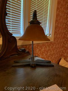 Vintage Dragonfly Desk Lamp