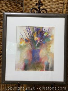 Framed Art- Signed by Dale Partouche