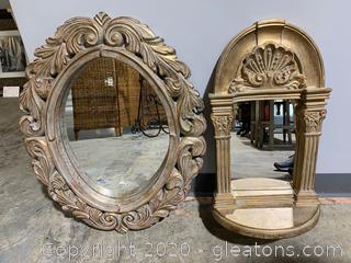 Decorative Wall Mirrors (2)