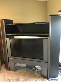 Large Adjustable Tv Storage Cabinet