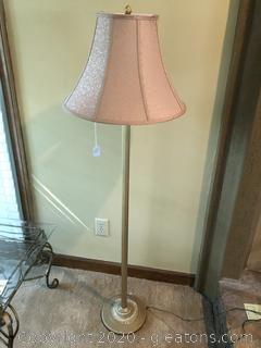 """60"""" Brass Floor Lamp"""
