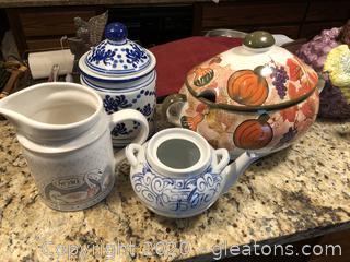 Lot of Misc Ceramic Kitchenware