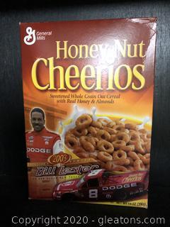 Bill Lester Cheerios Box