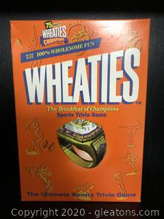 Wheaties Trivia Game