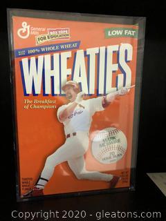 Wheaties  Mark Mc Guire Home Run Box