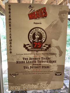 Weaties 75th Anniversay Negro League Poster