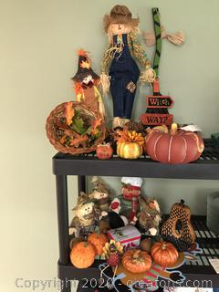 Lot of Fall Decorations