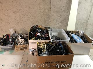 Lot of Misc Cords and wires