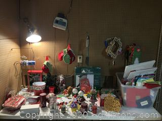 Lot of Christmas Decor and Effects