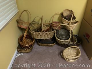 Lot of Baskets and such