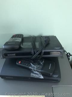 Pair of TV Converter Boxes