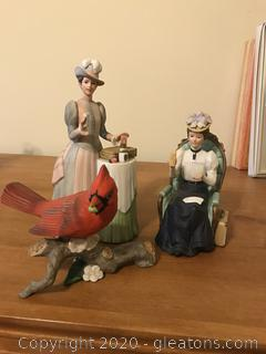 Lot of Avon Collectible Figurines