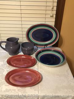 Glazed Serving Ware Dishes