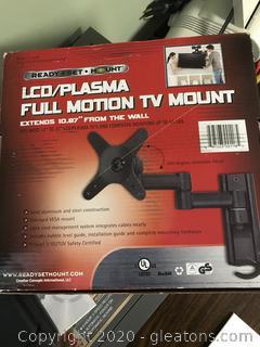 New in the Box Plasma Full Motion Tv Mount