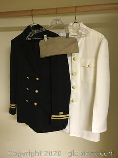 Vintage Navy Uniforms
