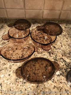 Lot of vision casserole dishes