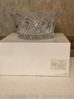 Luxe JG Durand Crystal Bowl