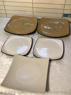 Lot of Coelle Hearthstone Stoneware Serving Plates