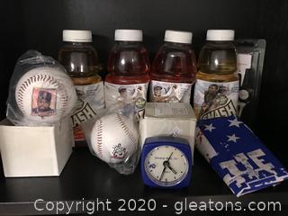 Lot of Branded Sport Memorabilia