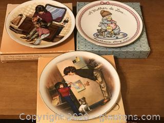 "Lot of Avon Collectible Miniature Plates ""B"""
