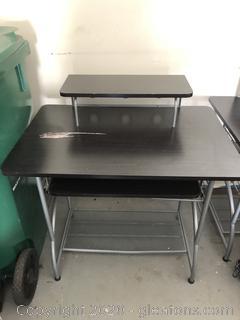 "Metal  Computer Desk ""B"""