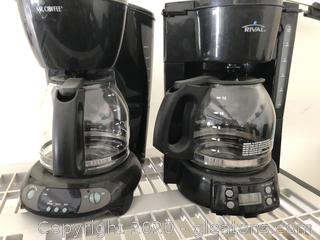 Lot of Coffee Makers