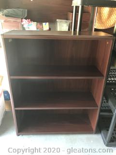 High End Wood Office Book Shelf