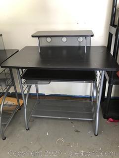 """Metal Computer Desk """"A"""""""