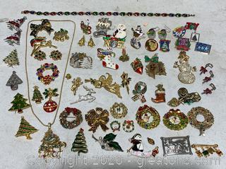 Christmas Costume Jewelry