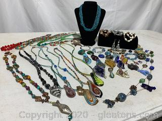 Large Collection of Italian Made Jewelry