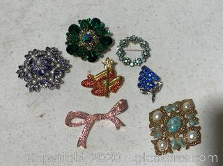 Vintage Broach Collection