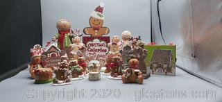 Collection of Christmas Gingerbread