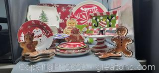 Variety of Christmas Platters