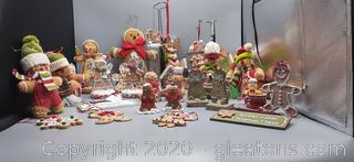 Variety of Gingerbread Men