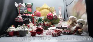 Assortment of Christmas Decorations