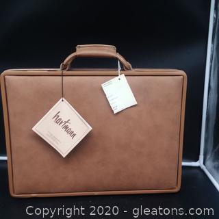 Vintage Hartman Luggage Locking Briefcase