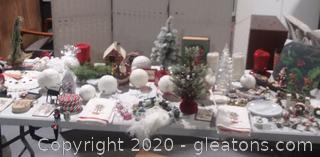 Huge Christmas Lot A