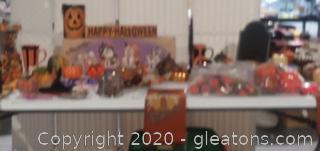 Halloween Decor Lot 3