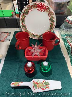 Breakfast Serving Set and Ornaments