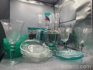 Assortment of Glassware