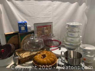 Collection of Baking Items