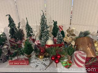 Miniature Christmas Tree Collection