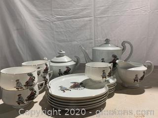 Hakusan China Tea Set