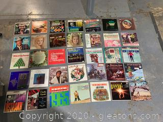 Vintage Vinyl 33 1/3 Record Lot E