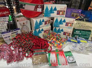 Christmas String Lights and Decor